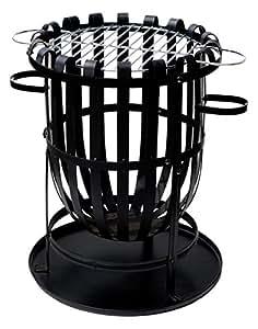 La Hacienda 56043BUS Vancouver Fire Basket with Grill