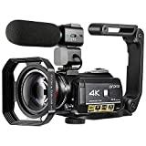 Best HD Video Cameras - 4K Camcorder, ORDRO AC3 Ultra HD Video Camera Review