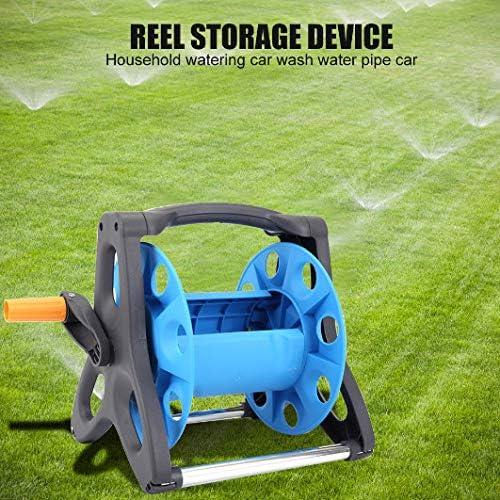 Garden Hose Reel Holder Rack Pipe Storage Cart,Gardening Water Planting Car Tool Watering Irrigation Garden Hoses Supplies