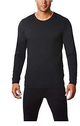 a348df791fe Amazon.com  32 DEGREES Mens Heat Performance Thermal Baselayer Tee ...