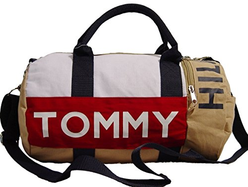 7e57522d1d Tommy Hilfiger Logo Khaki Canvas Mini Duffle Bag - Buy Online in UAE. |  Shoes Products in the UAE - See Prices, Reviews and Free Delivery in Dubai,  ...