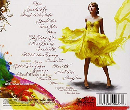 Taylor Swift Speak Now 2 Cd Deluxe Edition Amazon Com Music