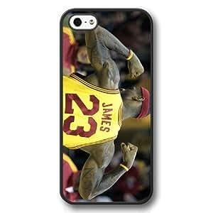 DiyPhone- Diy Black Hard Plastic For Samsung Galaxy Note 4 Cover Case, NBA Superstar Cleveland Cavaliers Lebron James For Samsung Galaxy Note 4 Cover over