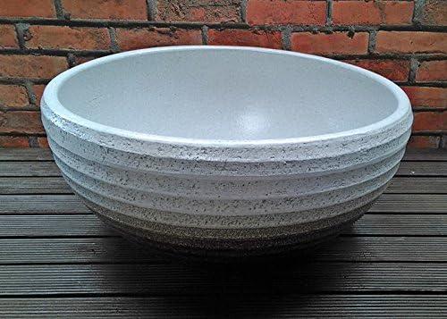 睡蓮鉢 MKS-WH 白 (11号) ビオトープ創りに 陶器製 水生植物 姫睡蓮やホテイ草に スイレン鉢 すいれん鉢 メダカ鉢 めだか鉢