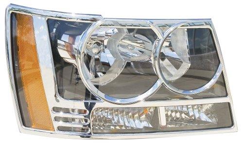 Putco 401206 Chrome Trim Head Lamp Overlay and Ring (Headlamp Overlays)