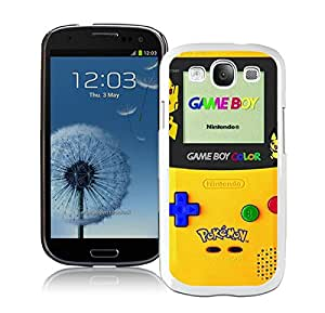 Beautiful Designed Case With Pokemon 2 White For Samsung Galaxy S3 I9300 Phone Case