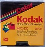 Kodak Color Micro 3.5 Inch Diskettes MF2-DD 2S-2D Pakage 10 Disks