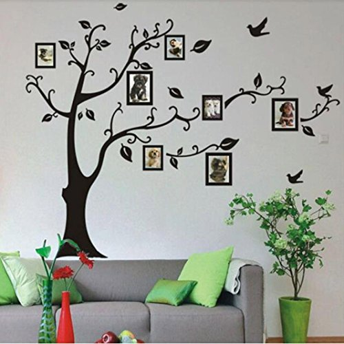 Oksale® Frame Tree Muslim Wall Stickers Papers PVC Art Vinyl Removable Bedroom Living Room Home Applique Mural Decor Decal