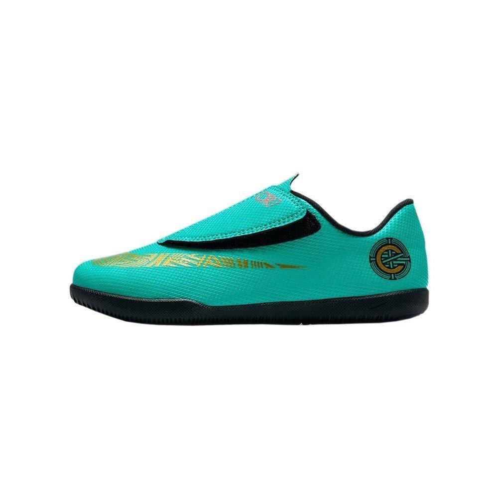 Nike - JR MercurialX Vapor 12 Club PS CR7 IC - AJ3107390 - Farbe  Türkisfarbig - Größe  27.5