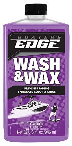 Orpine Wash - BOATER'S EDGE Wash & Wax - One-Step Wash + Wax Sealer 32 oz. BE1032