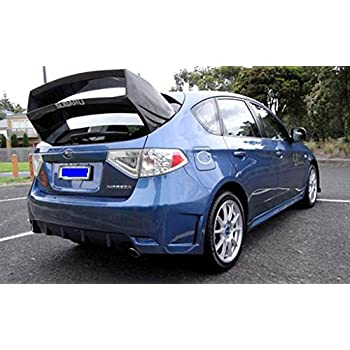 Amazon com: Carbon Fiber WRC Rear Spoiler For Subaru Impreza