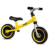 """Stemax Original 10"""" ultra lite balance bike no pedal with Adjustable Handlebar and Seat. Perfect for toddlers and children age 2-5 and up to 55 lbs. Develops balancing, steering and breaking skills"""