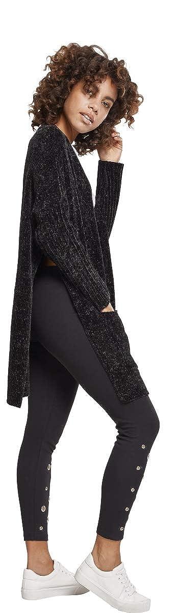 Urban Classics Ladies Oversize Chenille Cardigan Donna