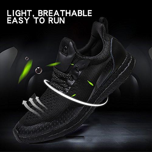 Vicsoon Männer Casual Walking Sneakers Leichte Breathable Laufschuhe Outdoor Sportschuhe