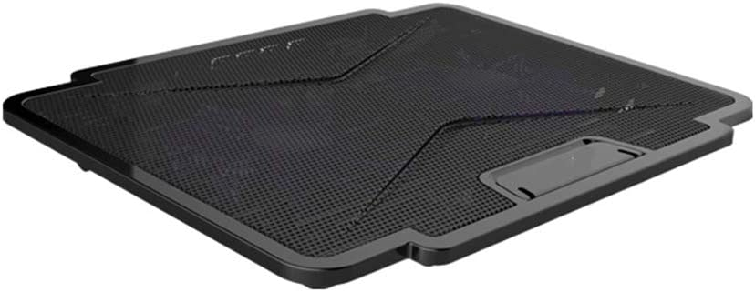 Laptop Cooling Pads Laptop Cooling Fan Cooling Pad Stand with 2 USB Powered Fans Light Weight /& Ultra-Slim Design,Black