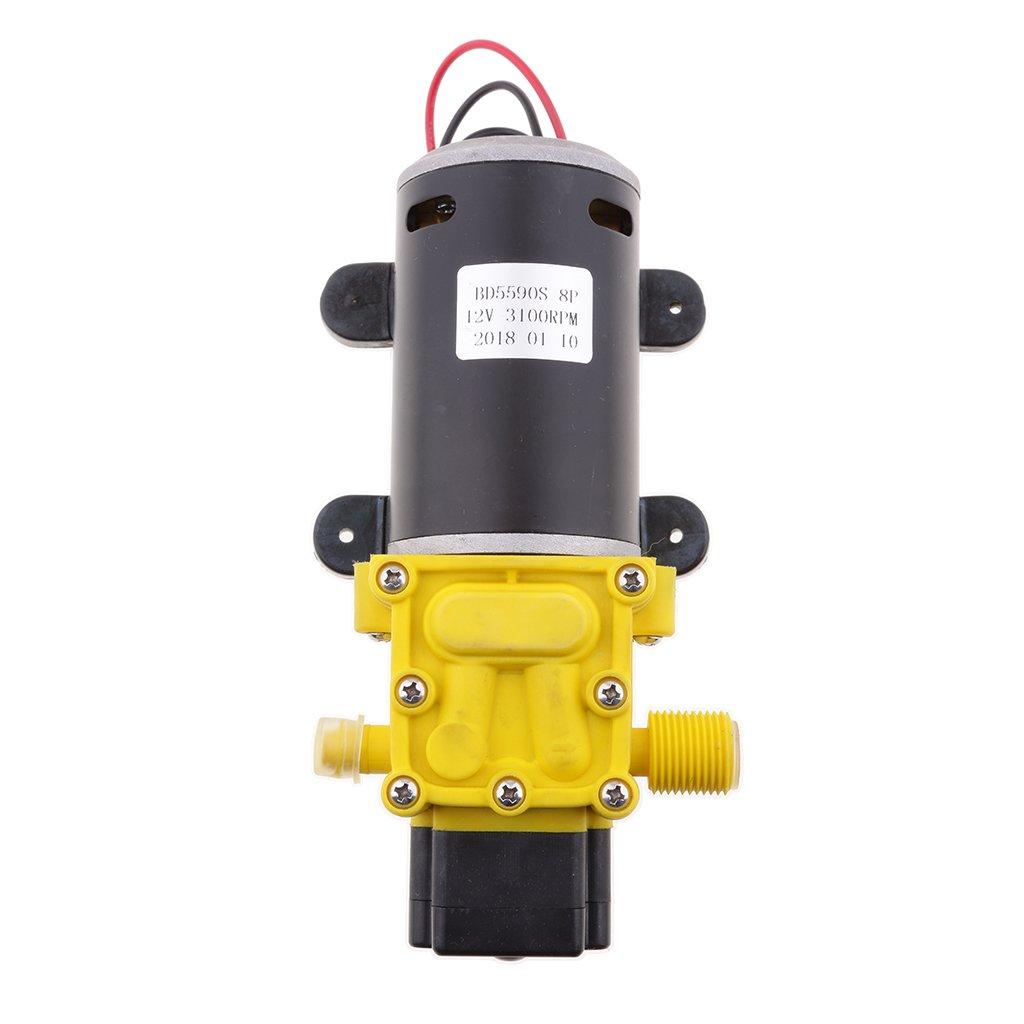 Homyl Water Pressure Diaphragm Pump DC 12V 5-6L//Min Pressure Switch Sprayer Pump