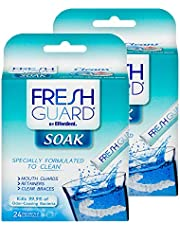 Fresh Guard by Efferdent Soak Crystals | 24 Count | 24 Pack