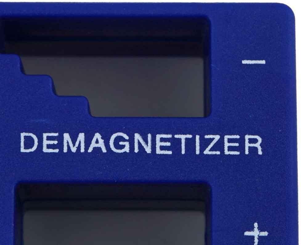 Lorsoul 2 en 1 magnetizador desmagnetizador, portátil eléctrica/Manual Destornillador, magnética Recoger Las Herramientas: Amazon.es: Hogar