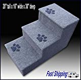 Dog steps, Pet steps, Doggy stairs with paw prints. For Sale