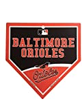 "Baltimore Orioles MLB 9.25""x9.25"" Home Plate Street Sign"
