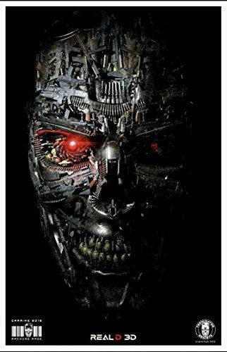 Terminator Genisys   11 X17  Original Promo Movie Poster 2015 Carmike Exclusive