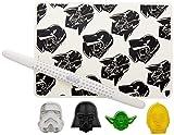 W&P WPSW-BAKE-SET Limited Star Wars Collection 6-Piece Baking Set, Includes Storm Trooper, Darth...