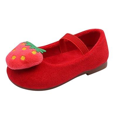 485883480f7b0 幸運な太陽 子供靴 キッズ ベビー 女の子 幼児 秋冬 イチゴ 甘い プリンセス 靴 スニーカー おしゃれ