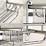 FeiQiangQiang Towel Rack 304 Stainless Steel