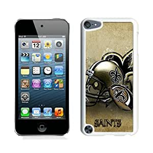 Excellent protection New Orleans Saints 14 White Cover Case For iPod Touch 5