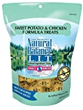 Image of Natural Balance L.I.T. Limited Ingredient Small Breed Dog Treats, Grain Free, Sweet Potato & Chicken Formula, 8-Ounce