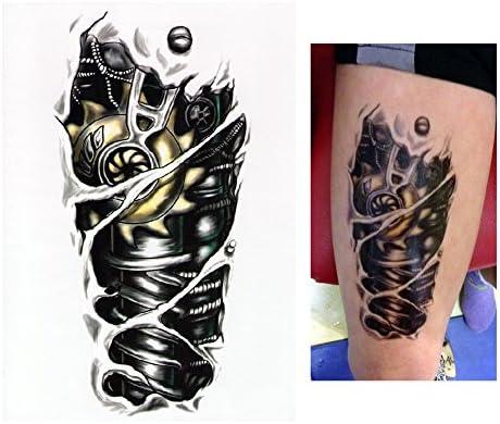 Tatuajes temporales Tempo rary Tattoo Fake Tattoo – Brazo Motor de ...