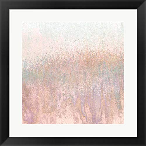 Blushing Woods by Roberto Gonzalez Framed Art Print Wall Picture, Flat Black Frame, 20 x 20 inches ()
