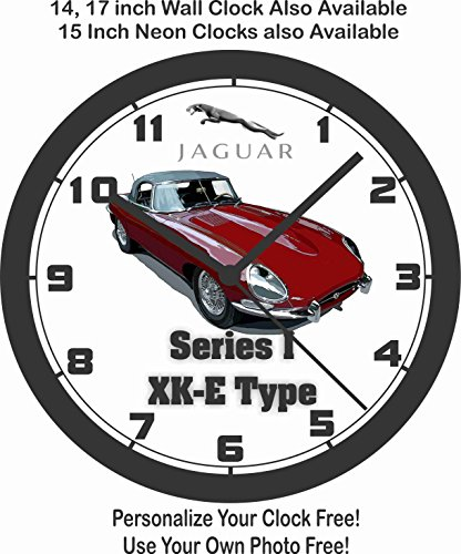 Amazon Com Jaguar Series 1 Xk E Type Wall Clock Free Usa Ship