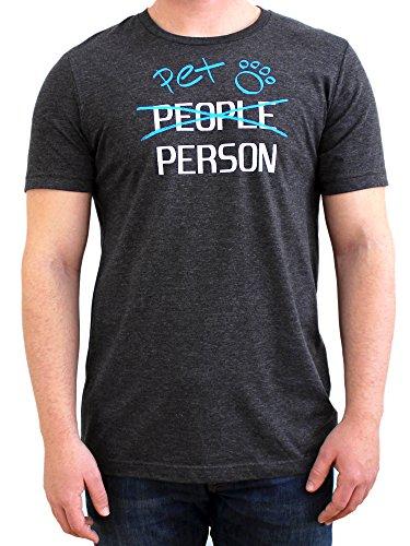 Pet Hoodie T-shirts - Paw Addict Pet Person Men's Graphic T-Shirt for Pet Lovers (Medium)