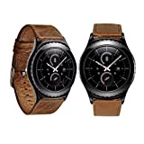 For Samsung Galaxy Gear S2 Classic, Sunfei Luxury Genuine Leather Watch band Wrist Strap (Brown)
