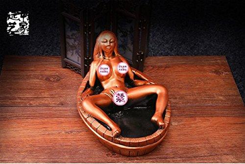 Znzbzt Retro large ashtray Creative gifts and crafts a boyfriend birthday gift ashtray, 古 Kim by Znzbzt