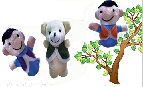Sun Hero Juguetes para Bebé Marionetas de Dedos El Oso y los ...