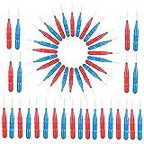 Anself 50pcs Interdental Brush Floss Head Tooth Pick Teeth Brush Dental Cleaning Brush