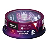25 Sony Bluray Rewritable Disk Bd-re 25gb Blu Ray Made in Japan Version Printable