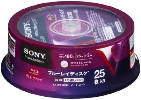 25 Sony Bluray Wiederbeschreibbar Bd Re Rohlinge Computer Zubehör