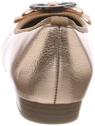 Jenny Damen Pisa Geschlossene Ballerinas, Braun (Copper, cana di Fucile)