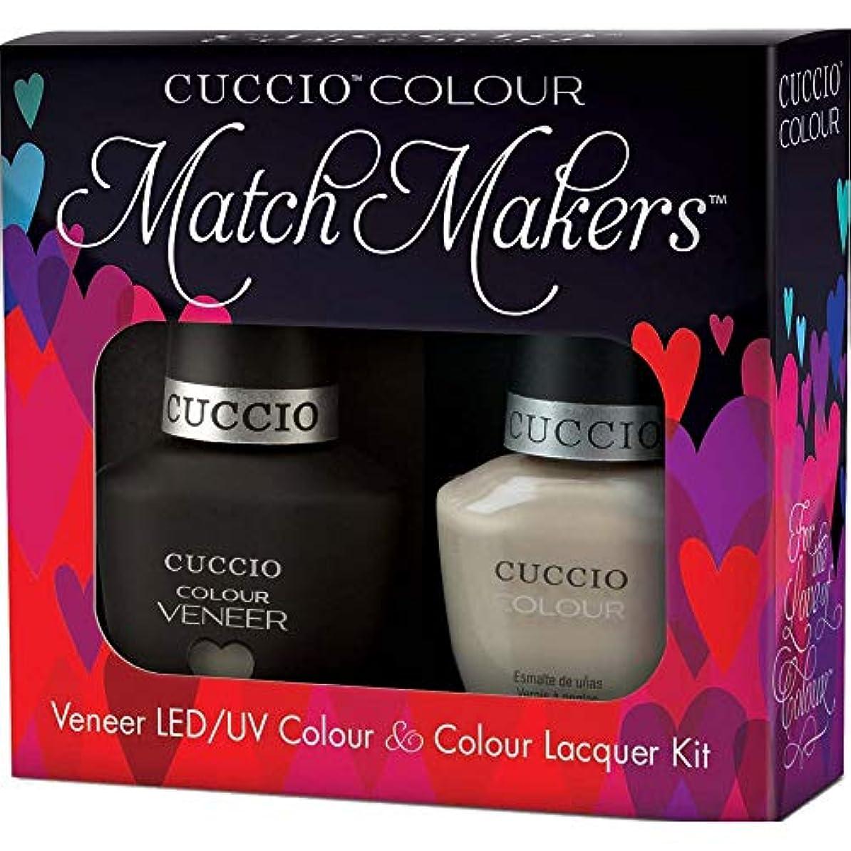 雑品通路遺伝的Cuccio MatchMakers Veneer & Lacquer - Fair Game - 0.43oz / 13ml Each