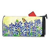 Magnet Works Bluebonnet Dream Original Magnetic Mailbox Wrap Cover