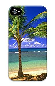 iPhone 4 4s Cases & Covers - Palm Tree Vacation Custom PC Soft Case Cover Protector for iPhone 4 4s