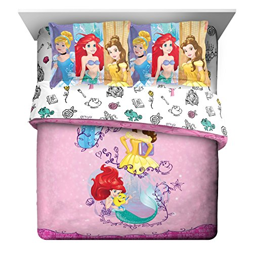 Cute Disney Princess comforter set