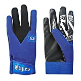 AJ Styles P1 Logo Pro Wrestling Fight Gloves - Royal
