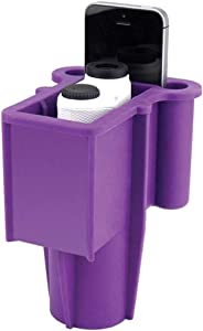 Range Gripper The for Golfers - an All-in-One Rangefinder/Smartphone Holder- Fits Any Golf Cart Cupholder, Secures & Protects Your Range Finder & Cell Phone - Never Lose Valuables Again