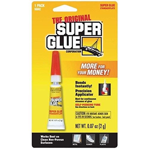 Super glue sgh2-12 super glue tube single pack