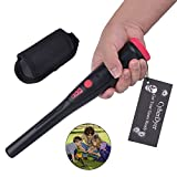 CyberDyer High Sensitivity Portable Handheld Metal Detector Hunting Unearthing Tool Accessories With Holster (Black)
