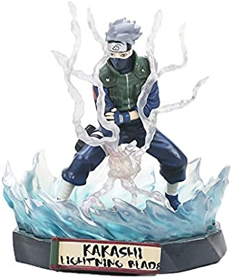 OIVA 19 cm PVC Naruto Ninja Anime Action Figure (Kakashi Hatake)